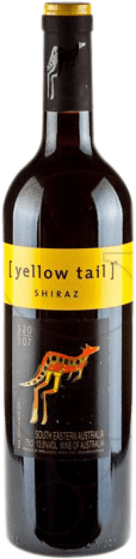 9,95 € Free Shipping | Red wine Yellow Tail Australia Syrah Bottle 75 cl