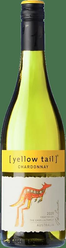 9,95 € Free Shipping | White wine Yellow Tail Joven Australia Chardonnay Bottle 75 cl