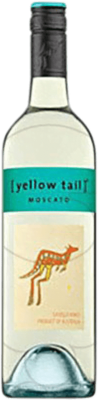 8,95 € Free Shipping | White wine Yellow Tail Moscato Joven Australia Muscatel Bottle 75 cl