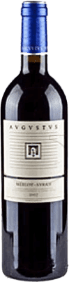 8,95 € Free Shipping | Red wine Augustus Augustus Merlot Syrah D.O. Penedès Catalonia Spain Merlot, Syrah 75 cl