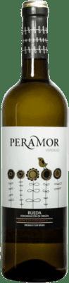 3,95 € 免费送货 | 白酒 Copaboca Peramor D.O. Rueda 西班牙 Verdejo 瓶子 75 cl | 成千上万的葡萄酒爱好者信赖我们,保证最优惠的价格,免费送货,购买和退货,没有复杂性.