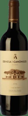 19,95 € 送料無料 | 赤ワイン Dehesa de los Canónigos Crianza D.O. Ribera del Duero スペイン Tempranillo, Cabernet Sauvignon ボトル 75 cl | 何千ものワイン愛好家が最高の価格を保証し、常に無料で出荷し、購入して合併症を起こすことなく返品します.