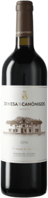 19,95 € Kostenloser Versand | Rotwein Dehesa de los Canónigos Crianza D.O. Ribera del Duero Spanien Tempranillo, Cabernet Sauvignon Flasche 75 cl