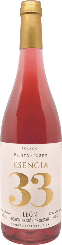 3,95 € Free Shipping | Rosé wine Meoriga Esencia 33 D.O. Tierra de León Spain Prieto Picudo Bottle 75 cl