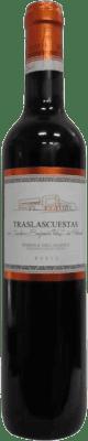 5,95 € 送料無料 | 赤ワイン Traslascuestas Joven D.O. Ribera del Duero スペイン Tempranillo ハーフボトル 50 cl | 何千ものワイン愛好家が最高の価格を保証し、常に無料で出荷し、購入して合併症を起こすことなく返品します.