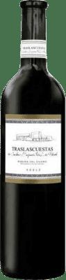 17,95 € 送料無料 | 赤ワイン Traslascuestas Joven D.O. Ribera del Duero スペイン Tempranillo マグナムボトル 1,5 L | 何千ものワイン愛好家が最高の価格を保証し、常に無料で出荷し、購入して合併症を起こすことなく返品します.