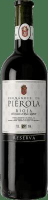 14,95 € 送料無料 | 赤ワイン Piérola Reserva D.O.Ca. Rioja スペイン Tempranillo ボトル 75 cl | 何千ものワイン愛好家が最高の価格を保証し、常に無料で出荷し、購入して合併症を起こすことなく返品します.