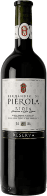 16,95 € Free Shipping | Red wine Piérola Reserva D.O.Ca. Rioja Spain Tempranillo Bottle 75 cl