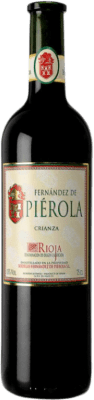 12,95 € Free Shipping | Red wine Piérola Crianza D.O.Ca. Rioja Spain Tempranillo Bottle 75 cl