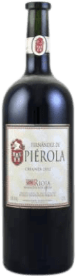 24,95 € Free Shipping | Red wine Piérola Crianza D.O.Ca. Rioja Spain Tempranillo Magnum Bottle 1,5 L