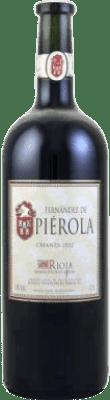 21,95 € Spedizione Gratuita | Vino rosso Piérola Crianza D.O.Ca. Rioja Spagna Tempranillo Bottiglia Magnum 1,5 L | Migliaia di amanti del vino si fidano di noi con la garanzia del miglior prezzo, spedizione sempre gratuita e acquisti e ritorni senza complicazioni.