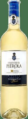 6,95 € Envio grátis | Vinho branco Piérola D.O.Ca. Rioja Espanha Tempranillo Garrafa 75 cl | Milhares de amantes do vinho confiam em nós com a garantia do melhor preço, envio sempre grátis e compras e devoluções sem complicações.