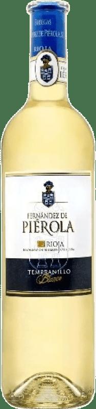 7,95 € Free Shipping | White wine Piérola D.O.Ca. Rioja Spain Tempranillo Bottle 75 cl