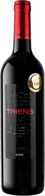 14,95 € Free Shipping | Red wine Legado de Orniz Triens Crianza D.O. Toro Spain Tinta de Toro Bottle 75 cl