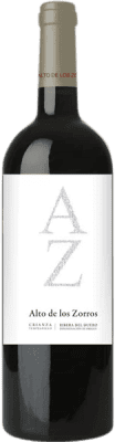 12,95 € Free Shipping | Red wine Solterra Alto de los Zorros Crianza D.O. Ribera del Duero Spain Tempranillo Bottle 75 cl | Thousands of wine lovers trust us to get the best price guarantee, free shipping always and hassle-free shopping and returns.
