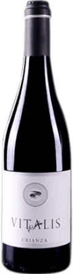 8,95 € Free Shipping | Red wine Vitalis Crianza D.O. Tierra de León Spain Prieto Picudo Bottle 75 cl