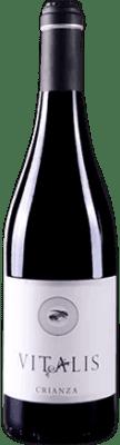 7,95 € Spedizione Gratuita | Vino rosso Vitalis Crianza D.O. Tierra de León Spagna Prieto Picudo Bottiglia 75 cl | Migliaia di amanti del vino si fidano di noi con la garanzia del miglior prezzo, spedizione sempre gratuita e acquisti e ritorni senza complicazioni.
