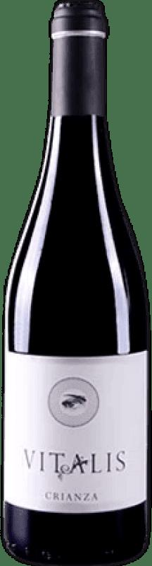 8,95 € Free Shipping | Red wine Vitalis Crianza D.O. Tierra de León Spain Prieto Picudo Bottle 75 cl