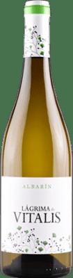 6,95 € Envio grátis | Vinho branco Vitalis D.O. Tierra de León Espanha Albarín Garrafa 75 cl | Milhares de amantes do vinho confiam em nós com a garantia do melhor preço, envio sempre grátis e compras e devoluções sem complicações.