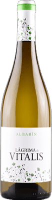 7,95 € Free Shipping | White wine Vitalis D.O. Tierra de León Spain Albarín Bottle 75 cl