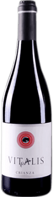 6,95 € Free Shipping | Red wine Vitalis Crianza D.O. Tierra de León Spain Prieto Picudo Bottle 75 cl