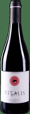 5,95 € Spedizione Gratuita | Vino rosso Vitalis Crianza D.O. Tierra de León Spagna Prieto Picudo Bottiglia 75 cl | Migliaia di amanti del vino si fidano di noi con la garanzia del miglior prezzo, spedizione sempre gratuita e acquisti e ritorni senza complicazioni.