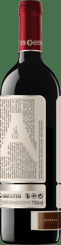 51,95 € Free Shipping | Red wine Esencias Adilón Selección Especial 18 Meses Reserva D.O. Ribera del Duero Castilla y León Spain Tempranillo Bottle 75 cl