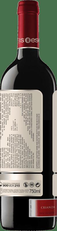 35,95 € Free Shipping | Red wine Esencias Adilón VS Vendimia Seleccionada 12 Meses Crianza D.O. Ribera del Duero Castilla y León Spain Tempranillo Bottle 75 cl