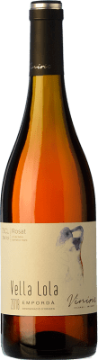 8,95 € Free Shipping | Rosé wine Viníric Vella Lola Rosat D.O. Empordà Catalonia Spain Grenache Bottle 75 cl