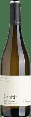 9,95 € Envoi gratuit | Vin blanc Viníric Propòsit Blanc D.O. Empordà Catalogne Espagne Grenache Blanc, Muscat, Macabeo Bouteille 75 cl