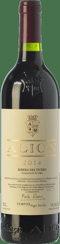206,95 € Free Shipping | Red wine Alión Crianza D.O. Ribera del Duero Castilla y León Spain Tempranillo Magnum Bottle 1,5 L