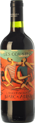 25,95 € Free Shipping | Red wine Les Cousins L'Inconscient Crianza D.O.Ca. Priorat Catalonia Spain Merlot, Syrah, Grenache, Cabernet Sauvignon, Carignan Magnum Bottle 1,5 L