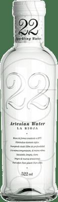 1,95 € Envoi gratuit | Eau 22 Artesian Water Gas Espagne Bouteille Medium 50 cl