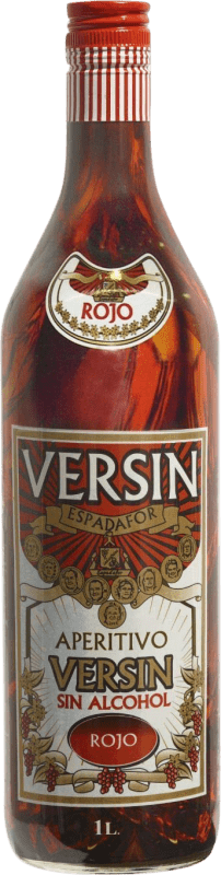 5,95 € Envoi gratuit | Schnapp Versin Rojo sin alcohol Espagne Bouteille Missile 1 L