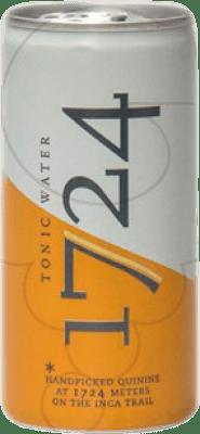 1,95 € Envoi gratuit | Rafraîchissements 1724 Tonic Tonic Water Argentine Lata 20 cl