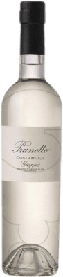 32,95 € Free Shipping | Grappa Prunotto Costamiole Italy Medium Bottle 50 cl