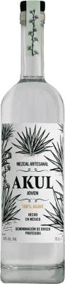 38,95 € Free Shipping | Mezcal Akul Joven Mexico Bottle 70 cl