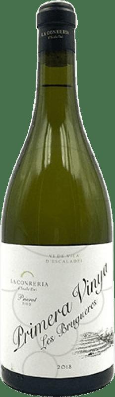 32,95 € Free Shipping | White wine Scala Dei Primera Vinya Les Brugueres Crianza D.O.Ca. Priorat Catalonia Spain Grenache White Bottle 75 cl