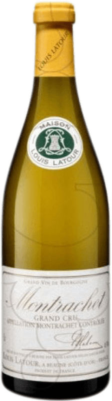 719,95 € Free Shipping | White wine Louis Latour Grand Cru Crianza A.O.C. Montrachet Burgundy France Chardonnay Bottle 75 cl