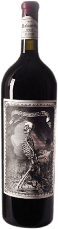 202,95 € Free Shipping | Red wine Oxer Wines Kalamity D.O.Ca. Rioja The Rioja Spain Tempranillo, Grenache, Grenache White, Macabeo Magnum Bottle 1,5 L