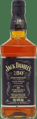 41,95 € Free Shipping | Bourbon Jack Daniel's 150 Aniversario United States Bottle 70 cl