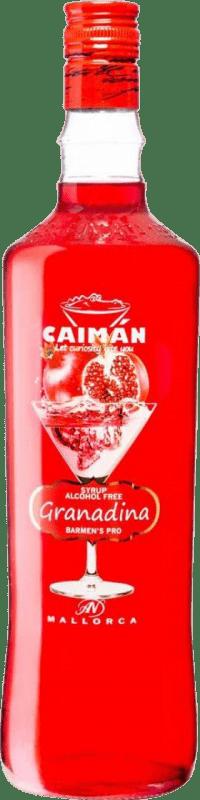 6,95 € Envoi gratuit | Schnapp Antonio Nadal Caimán jarabe Granadina sin alcohol Espagne Bouteille Missile 1 L