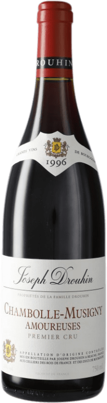 712,95 € Free Shipping | Red wine Drouhin 1er Cru Amoureuses 1996 A.O.C. Chambolle-Musigny Burgundy France Pinot Black Bottle 75 cl
