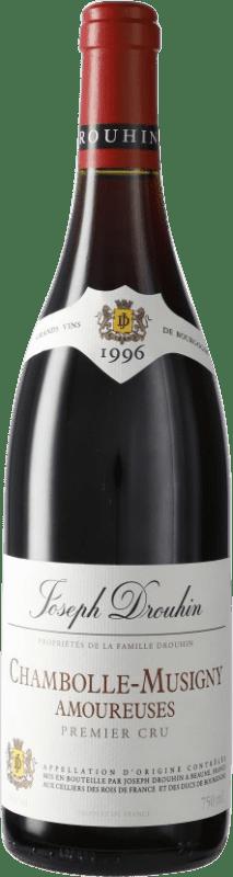 712,95 € Envoi gratuit | Vin rouge Drouhin 1er Cru Amoureuses 1996 A.O.C. Chambolle-Musigny Bourgogne France Pinot Noir Bouteille 75 cl