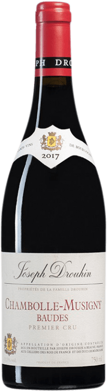 134,95 € Free Shipping   Red wine Drouhin 1er Cru Baudes A.O.C. Chambolle-Musigny Burgundy France Pinot Black Bottle 75 cl