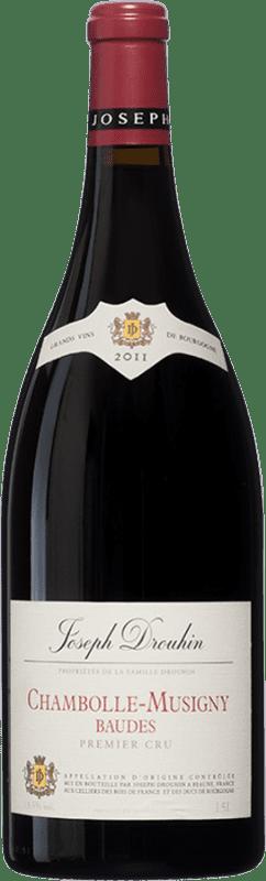 219,95 € Envoi gratuit | Vin rouge Drouhin 1er Cru Baudes A.O.C. Chambolle-Musigny Bourgogne France Pinot Noir Bouteille Magnum 1,5 L
