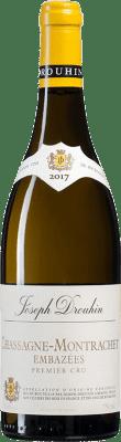 103,95 € Free Shipping | White wine Drouhin 1er Cru Les Embazées A.O.C. Chassagne-Montrachet Burgundy France Chardonnay Bottle 75 cl