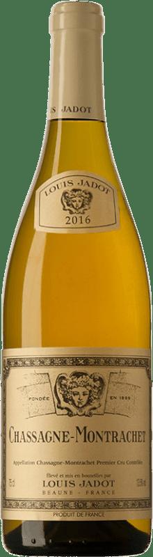 121,95 € Free Shipping | White wine Louis Jadot 1er Cru Les Embazées A.O.C. Chassagne-Montrachet Burgundy France Chardonnay Bottle 75 cl