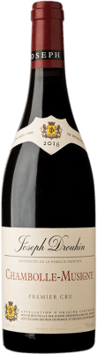 104,95 € Free Shipping | Red wine Drouhin 1er Cru A.O.C. Chambolle-Musigny Burgundy France Pinot Black Bottle 75 cl