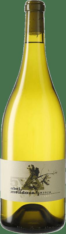 61,95 € Kostenloser Versand | Weißwein Abel Mendoza 5V D.O.Ca. Rioja Spanien Magnum-Flasche 1,5 L
